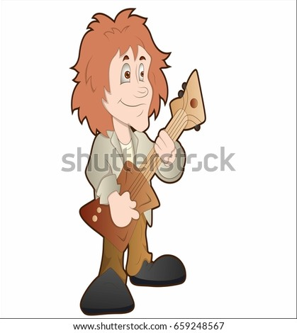 Cartoon Inspector Holding Magnifying Glass Stock Vector ...