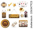 casino - stock vector
