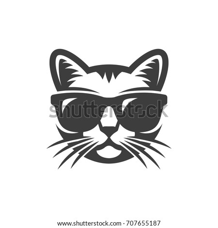 Cat And Hat Vector