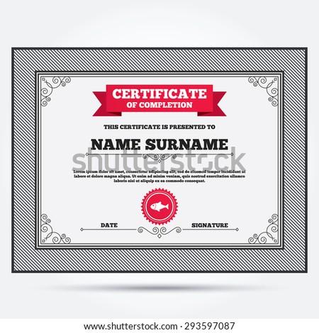 sample of award certificate