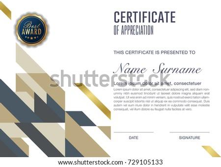 cool certificate design