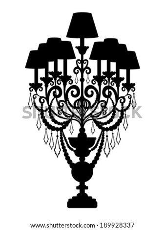Lantern Vector Black Silhouette 220296946 on victoria glass