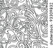Chaotic pattern - stock vector