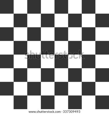 Vector Modern Pattern Checkered Black White Stock Vector