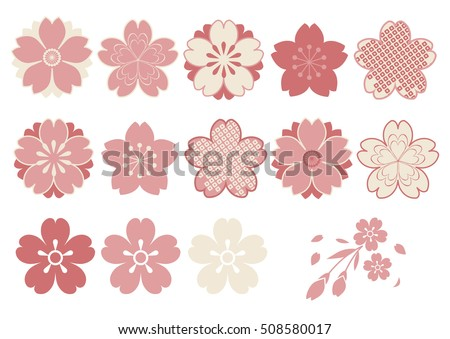 Cherry Blossoms  design parts material