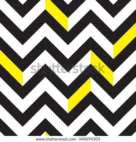 Chevron black and white seamless pattern