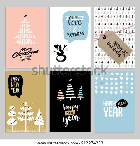 Set Birthday Cards Vector 633371483 Shutterstock – Set of Birthday Cards
