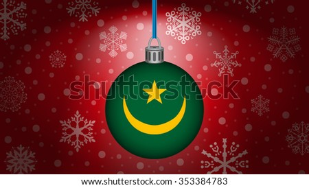 christmas in mauritania