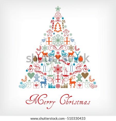 Christmas Tree Merry Christmas