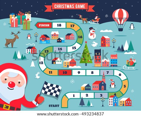 christmas infographic set charts data elements stock vector