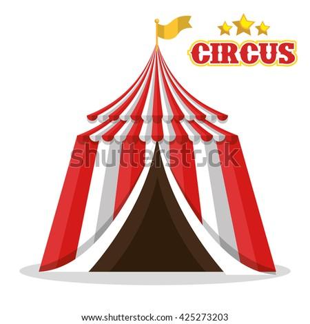 Vector Icon Circus Tent Stock Vector 316420367 - Shutterstock