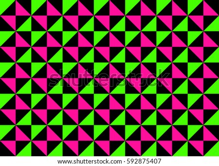 Moroccan Lattice Patterns White Silver Grey Stock Vector #1: stock vector classic neon colors geometric pinwheel seamless pattern fluorescent lime green hot pink with
