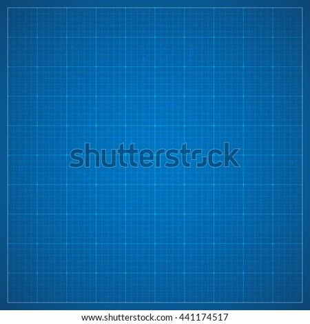 Paper blueprint background drawing paper architectural stock clean blueprint page background millimeter paper grid texture background in dark blue color blueprint malvernweather Image collections