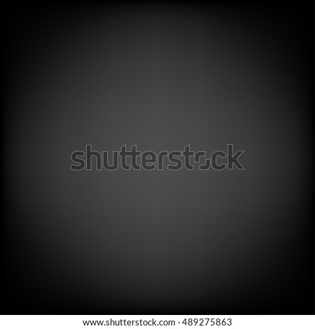 Clear studio dark vector black background for product presentation