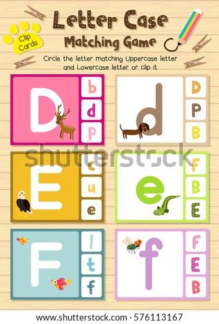 cute children zoo alphabet e letter stock vector 491883034 shutterstock. Black Bedroom Furniture Sets. Home Design Ideas