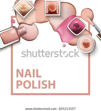 spilled nail polish coloring pages - photo#6