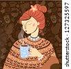 Coffee Background - stock