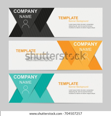 name banner template