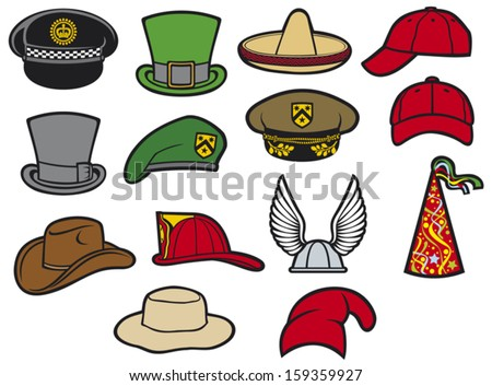 helmet, saint patrick's day leprechaun hat, sombrero, cowboy hat party