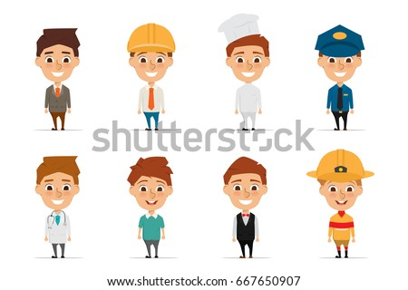 Professional woman hard hat stock vector 145391839 for Character designer job