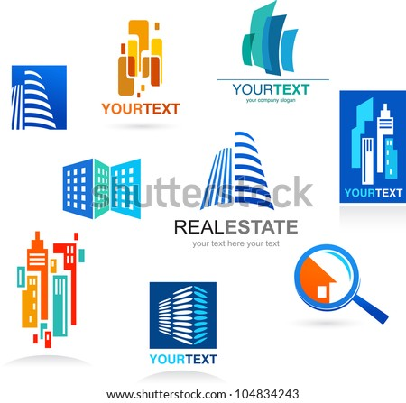 stock-vector-collection-of-real-estate-i