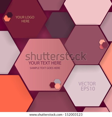 Color hexagons.