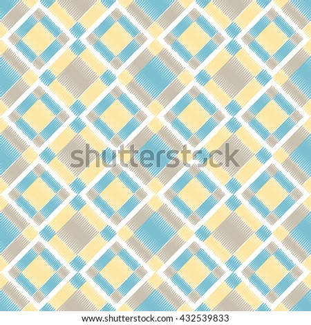 Color seamless geometric pattern. Colored diamonds. EPS 10