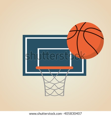 basketball hoop ball stock vector 576821494 shutterstock