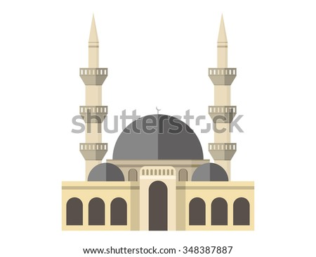 colored mosque