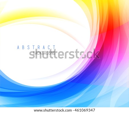 colorful backgrounds abstract waves vector