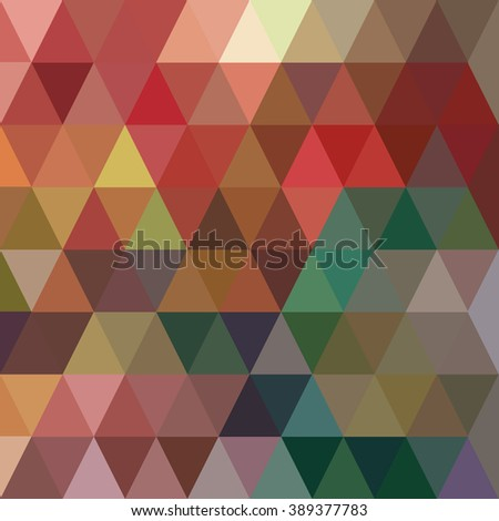Colorful diamond polygonal background