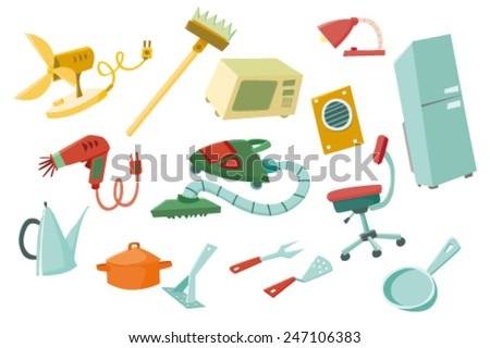 Colorful household items 2