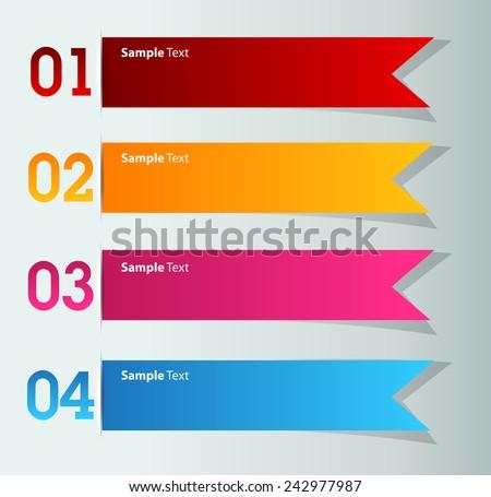 Web Banner Element Stock Vector 608357630 - Shutterstock