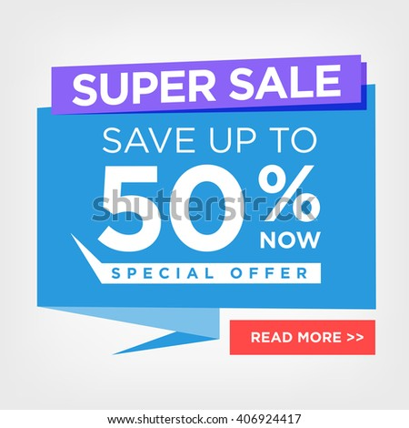 special offer flyer template