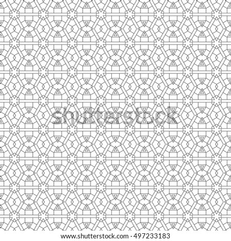 Seamless Floral Pattern Colorful Summer Background Stock