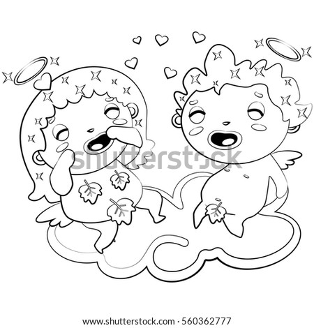 Poodle Coloring Page Stock Vector 191105309 Shutterstock