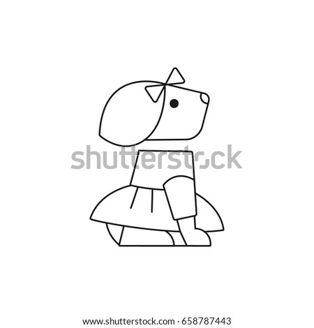Coloring Pages Image Dogs Painting Page Stock Illustration Painting Pages