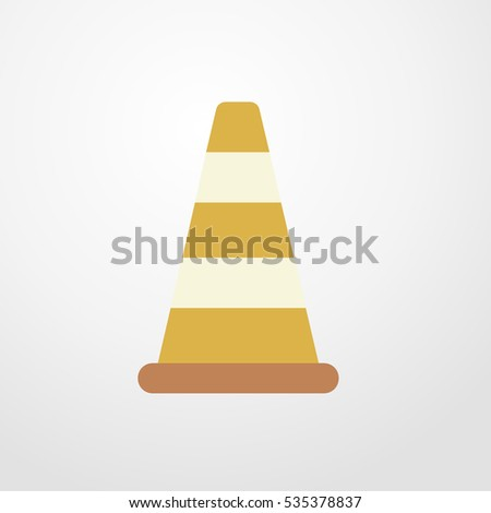 cone icon illustration isolated vector sign symbol