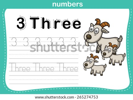 Worksheets Kindergarten Exercise connecting dot printable numbers exercise lovely stock vector and with cartoon for preschool kindergarten kids illustration