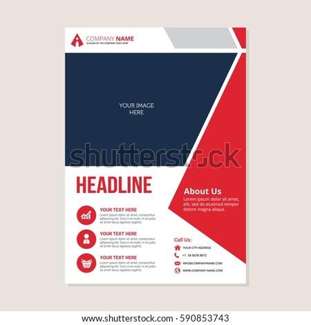 Corporate Business Annual Report Brochure Flyer Vector – Annual Report Brochure