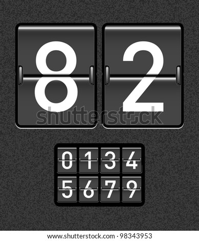 countdown timer with different numbers
