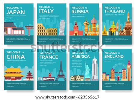 japan travel brochure template - country china travel vacation guide goods stock vector