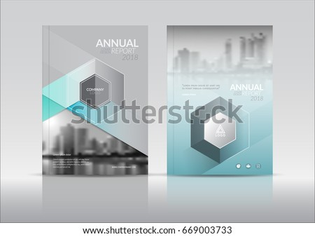 brochure front cover design - cover design annual reportvector template brochures stock