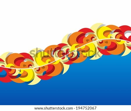 Creative Abstract colorful Background vector illustration