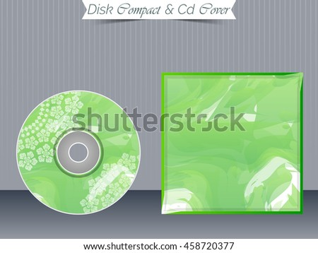 Cd Cover Design Copy Space Vector Stock Vector 38581693 ...