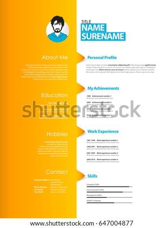 creative curriculum vitae templates