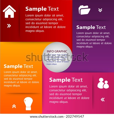 creative design template for website, graphic, icon.