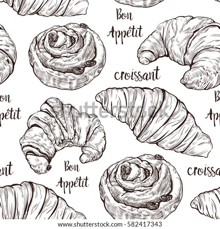 how to say croissant in french