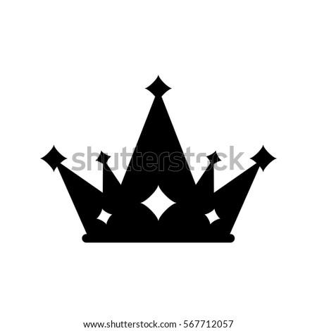 crown royal symbol icon vector illustration stock vector