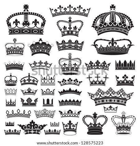 CROWNS Antique and decorative